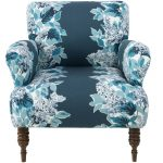 Windy Corner Indigo Accent Chair