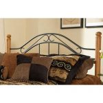 Winsloh Metal & Oak King Headboard