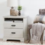 Winter Oak 2-Drawer Nightstand – Avilla
