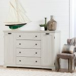 Winter Oak 4-Drawer Dresser with Doors – Avilla