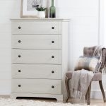 Winter Oak 5-Drawer Chest – Avilla