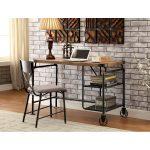 Wood & Metal Casual Industrial Desk – Alexander