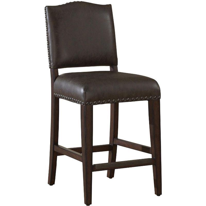 Strange Worthington Suede 2 Pack Bar Stool Everything Home Shop Cjindustries Chair Design For Home Cjindustriesco