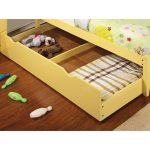 Yellow Pull-out Trundle