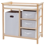 Infant Baby Storage Changing Table w/ 3 Baskets