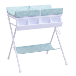 Foldable Infant Baby Bath Diaper Storage Changing Table