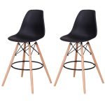 Set of 2 Dining Side Armless Accent Chair