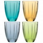 Noritake Colorwave Set of 4 Multi-Color Tumblers
