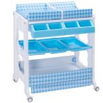 Infant Baby Bath Changing Table Diaper Station w/ Tube