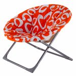 Large Folding Saucer Moon Chair