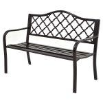 50″ Patio Garden Bench Loveseats