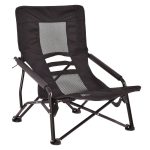 Outdoor High-Back Folding Beach Chair