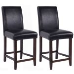 Set of 2 Kitchen Bar Stools Dining Chairs
