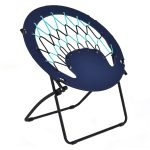 Outdoor Camping Folding Round Bungee Chair